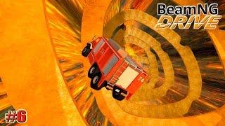 getlinkyoutube.com-BeamNG.drive карта НАСТОЯЩИЙ АД (Molten) (Crash test) 6 серия