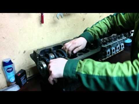 Видео по сборке двигателя Часть 1