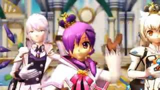 [MMD Elsword] Little Apple (小苹果) (60fps)