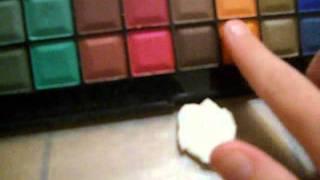 getlinkyoutube.com-Tutorial: How to color cold porcelain