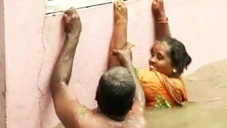 getlinkyoutube.com-Chennai battles flooding after rain, water level rises in parts