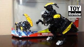 getlinkyoutube.com-파워레인저 다이노포스 파라사건 미국판 장난감 박스 개봉기 Power Rangers Dino Charge Para Zord Box Opening by 키즈와이 kids why