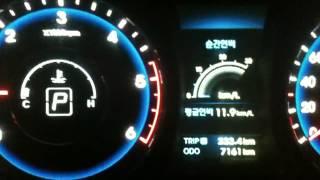 getlinkyoutube.com-현대자동차 i40 비새는 동영상 충격 - Hyundai i40 water leakage WoW