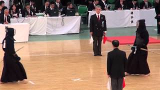 getlinkyoutube.com-怪物 竹ノ内佑也 史上最年少優勝 第62回全日本剣道選手権