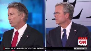 getlinkyoutube.com-All of Rand Paul's responses in CNN Debate 9/16/15 #GOPDebate
