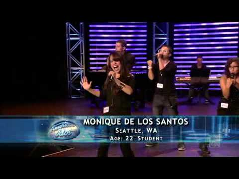 American Idol 2011/ Hollywood Round 2 / Scotty McCreery,  Monique Santos,Coontz, Gamboa