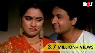 Shekhar Suman & Padmini Kolhapuri Suhagraat Scene   Anubhav   HD width=