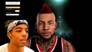How To Make  My Player  | NBA 2K16