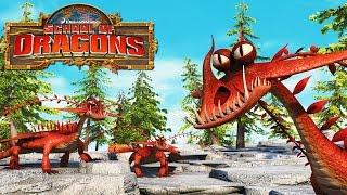 getlinkyoutube.com-How to Train Your Dragon : School of Dragons #8 ' DRAGONS GROW UP'