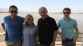 getlinkyoutube.com-PM Netanyahu and his family tour the north of Israel