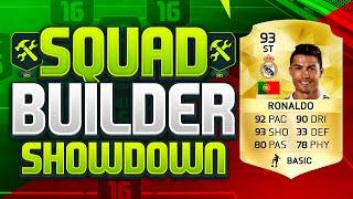 FIFA 16 SQUAD BUILDER SHOWDOWN!!! STRIKER RONALDO!!! Striker CR7 Squad Builder Duel