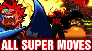 getlinkyoutube.com-Marvel Super Heroes vs Street Fighter All Super Combos