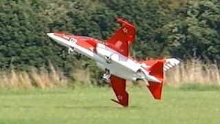 getlinkyoutube.com-RC TURBINE JET CRASH !!! YAK-130 BIG SCALE TURBINE MODEL JET FLIGHT ON A WINDY DAY