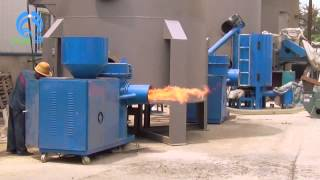 getlinkyoutube.com-2400000kcal sawdust burner, 2400Mcal rice husk burner, cotton shell burner, coconut shell burner