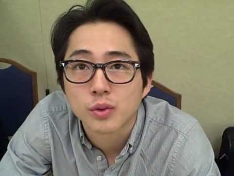 Steven Yeun interview from The Walking Dead!