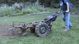 Gravely with Rotary Plow