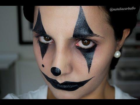 Maquillaje Halloween: Arlequín, bufón | por Natalia Carballo