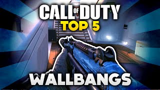 getlinkyoutube.com-Call of Duty - Top 5 Wallbangs! (Deutsch/German)