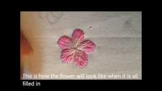 getlinkyoutube.com-Vietnamese Embroidery: Flower