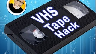 getlinkyoutube.com-VHS Tape Hack!