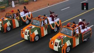 R-Day parade: India displays military might, cultural diversity