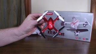 getlinkyoutube.com-Syma - X11 Hornet - Review and Flight