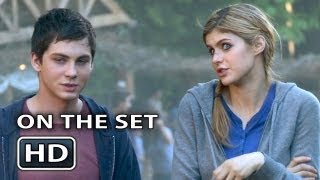 getlinkyoutube.com-PERCY JACKSON 2 On the Set Making-Of Video [Part 2]