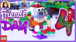 getlinkyoutube.com-Lego Friends Day 4 Advent Calendar 24 in 1 Holiday Countdown 2016 Build Review - Kids Toys