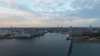 getlinkyoutube.com-[摂理の賛美]新たな帆をつけよ(DJI Phantom4@千葉ポートタワー空撮)