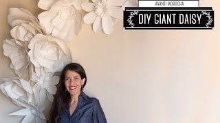"getlinkyoutube.com-DIY - Giant Paper Flower Backdrop ""Daisy - Margarita"" Decoracion de Fiestas"