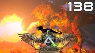 getlinkyoutube.com-ARK Survival Evolved [#138] Turkey Trial - DodoRex vs Giganotosaurus, Chieftan Hat Skin, Wishbones
