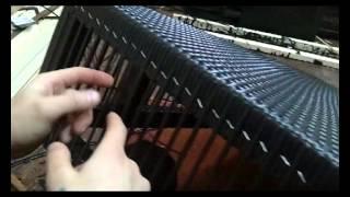 getlinkyoutube.com-Изготовление мебели из искусственного ротанга