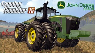 getlinkyoutube.com-Farming Simulator 2015 mod tractor JOHN DEERE 9560R