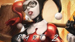 getlinkyoutube.com-BATMAN RETURN TO ARKHAM (Arkham Asylum) Walkthrough Gameplay Part 2 - Harley Quinn (PS4 Pro)