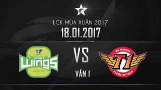 getlinkyoutube.com-[18.01.2017] Jin Air vs SKT [LCK Mùa Xuân 2017][Ván 1]