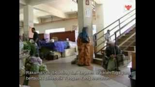 Mazidul@TV 3 Dibalun Makcik Pengemis Gedebe Di Kota Bharu
