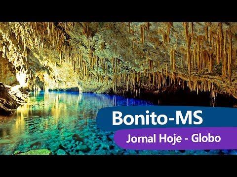 Águas cristalinas em Bonito/MS - Jornal Hoje - Globo