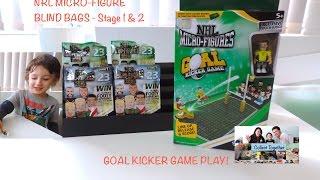 getlinkyoutube.com-NRL Micro-figures 2016 Blind Bags & GOAL KICKER GAME!
