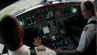 getlinkyoutube.com-Montreal Dorval Departure Cockpit A330