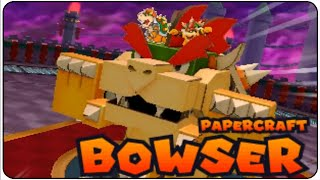 getlinkyoutube.com-Mario & Luigi Paper Jam Walkthrough Part 48 Papercraft Bowser Boss Battle