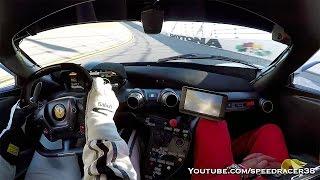 getlinkyoutube.com-Ferrari FXX-K 200+ mph at Daytona