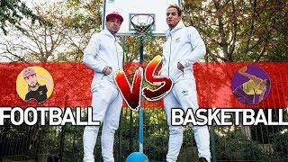 FOOTBALL vs. BASKET feat. BRISCO CHAMPION DU MONDE !