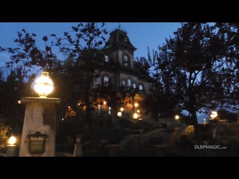 Phantom Manor, Frontierland - Disneyland Paris HD Complete Ridethrough