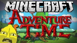getlinkyoutube.com-Minecraft | ADVENTURE TIME! (Adventures with Finn and Jake!) | Adventure Map [1.6.2]