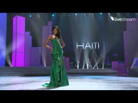 Miss Universe 2011 Evening Gown Germany-Italy
