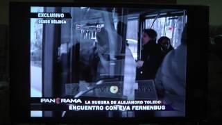 ENCUENTRO CON EVA FERNENBUG - LA SUEGRA DE ALEJANDRO TOLEDO (VIDEO PANORAMA)