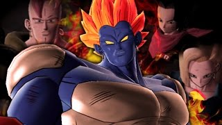 ALL ANDROIDS SUCK!! Canon Androids VS Movie Androids!!   Dragon Ball Raging Blast 2