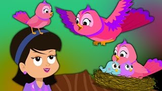 Chidiya Rani Hindi Rhymes | Hindi Poems and Balgeet | Kids Tv India | Hindi Nursery Rhymes