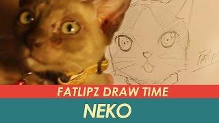 getlinkyoutube.com-Fatlipz Draw Time - การวาดแมวแบบกากๆ