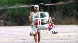 getlinkyoutube.com-Vario Lama SA315B turbine rc helicopter-Jojo flying.